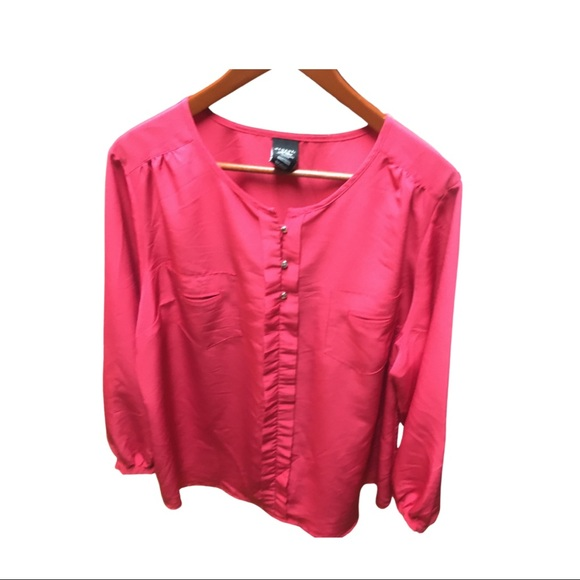 GEORGE Plus Size Blouse - Pink